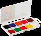 Краски акварельные 10 цветов ZiBi