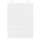 Бумага для флипчарта ABC 20 листов (клетка)