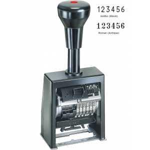 Нумератор REINER B6K 6-ти разрядный, шрифт 4,5мм