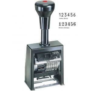 Нумератор REINER B6K 6-ти разрядный, шрифт 5,5мм