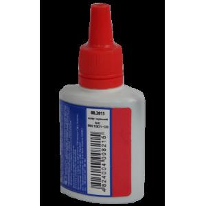 Штемпельная краска Buromax 30мл, красная