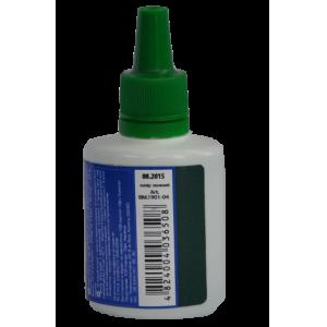 Штемпельна фарба Buromax 30мл, зелена