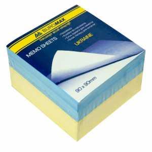 Блок паперу для нотаток Україна 90х90х60мм зклеєний