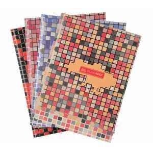 """Книга обліку """"Mosaic"""" А4 80 аркушів клітинка"""