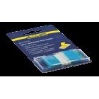 Закладки пластиковые с клейким слоем в диспенсере BuroMax (50 шт.) (BM.2309-02)