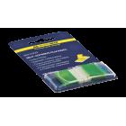 Закладки пластиковые с клейким слоем в диспенсере BuroMax (50 шт.) (BM.2309-04)