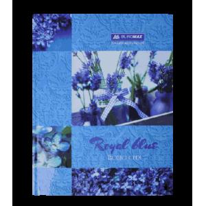 Книга учета BOHO CHIC А4 96 листов, клетка, синяя
