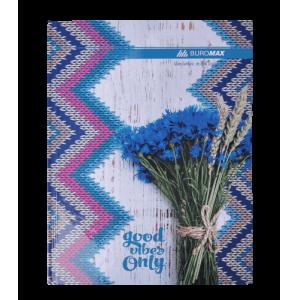 Книга учета ROMANTIC А4 96 листов, клетка, синяя