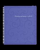 Тетрадь Barocco B5 80 листов, фиолетовый