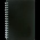 Тетрадь Classic А6 80 листов, черный