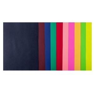 Набор цветной бумаги А4, 80 г/м2, DARK+NEON, 10 цветов, 50л.