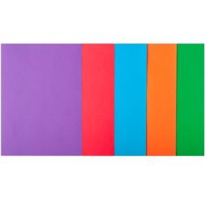 Набор цветной бумаги А4, 80 г/м2, INTENSIV, 5 кольорів, 20арк.