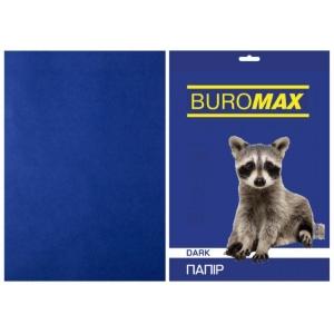 Папір кольоровий А4, 80 г/м2, DARK темно-синій, 50арк.