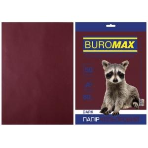 Бумага цветная А4, 80 г/м2, DARK, коричневый, 50л.