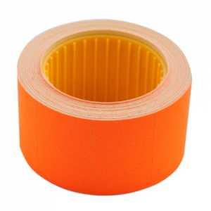 Ценник 30 * 20мм (300шт, 6м), прямоугольный, внешняя намотка, оранжевый