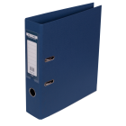 Регистратор двухсторонний Buromax А4/70мм темно-синий