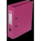 Регистратор двухсторонний Buromax А4/70мм розовый
