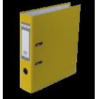 Регистратор односторонний Buromax А4/70мм желтый