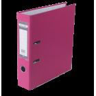Регистратор односторонний Buromax А4/70мм розовый