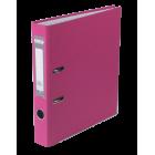 Регистратор односторонний Buromax А4/50мм розовый