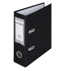 Регистратор односторонний Buromax А5 70мм черный