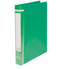Папка пластикова А4 на 2 кільця BM.3161-04, зелена