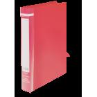 Папка пластикова А4 на 2 кільця BM.3161-05, червона