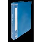 Папка пластиковая А4 на 2 кольца BM.3167-02, синяя