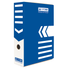 Бокс архивный BUROMAX 80 мм синий