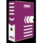 Бокс архивный BUROMAX 80 мм фиолетовый
