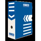 Бокс архивный BUROMAX 100 мм синий