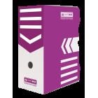 Бокс архівний BUROMAX 150 мм фіолетовый