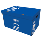 Короб для архивных боксов BUROMAX синий