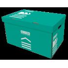 Короб для архівних боксів BUROMAX бірюзовий