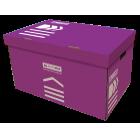 Короб для архівних боксів BUROMAX фіолетовий