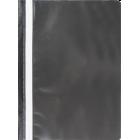 Скоросшиватель пластиковый  Buromax A4, черный