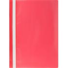 Скоросшиватель пластиковый Buromax A5, красный