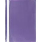 Скоросшиватель пластиковый Buromax A5, фиолетовый