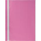 Скоросшиватель пластиковый  Buromax A4, розовый
