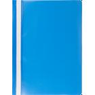 Скоросшиватель пластиковый  Buromax A4, голубой
