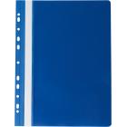 Скоросшиватель с перфорацией Buromax А4, темно-синий