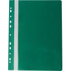Скоросшиватель с перфорацией Buromax А4, зеленый