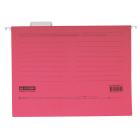 Файл подвесной картонный А4 BM.3350-10, розовый