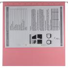 Файл підвісний картонний А4 BM.3350-10, рожевий