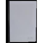 Скоросшиватель с прижимной планкой А4 6мм, черный
