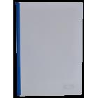 Скоросшиватель с прижимной планкой А4 6мм, синий