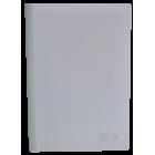 Скоросшиватель с прижимной планкой А4 6мм, белый