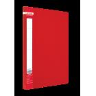 Папка с прижимом А4 Buromax, красная