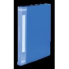 Папка с прижимом А4 Buromax, синяя
