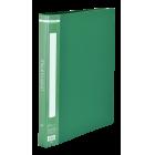 Папка с прижимом А4 Buromax, зеленая